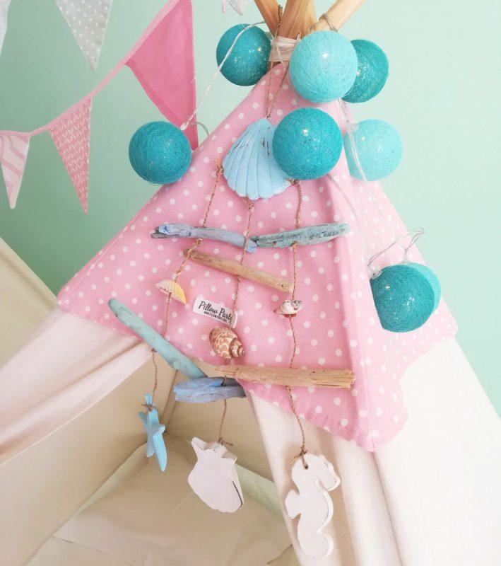 Tendas para festas do pijama - Sereias