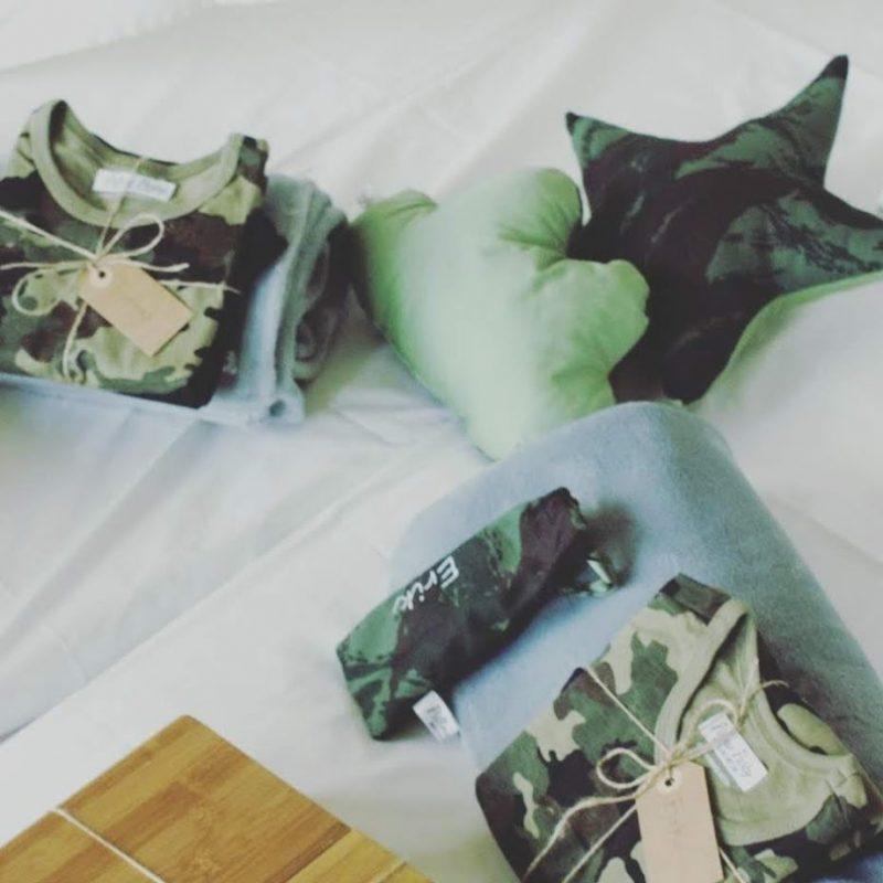 Tendas para festas do pijama - Camuflado